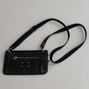 Fossil Genuine Leather Crossbody Wallet